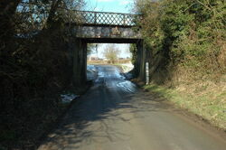 Former railway bridge, Willersey - geograph.org.uk - 1723920