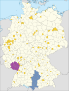 Rheinpfalz and Swabia