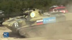 Wow! Tanks on a roll at International Army Games 2016