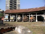 Roundhose at Guatemala City Station