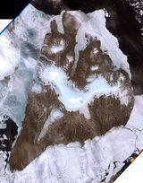 Bolshevik Island in Siberia, Russia