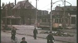 OIL REFINERY WW2 IN FRANKFURT BOMBED BY THE 92ND BOMB GRUOP-0