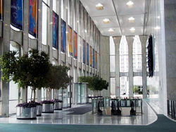 World Trade Center lobby, 08-19-2000