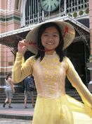 Aodai & non la before Saigon PO