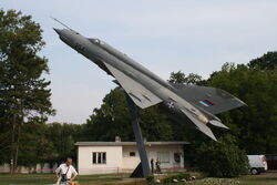 MiG-21 bis Batajnica, september 13, 2009