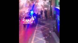Video shows London terror attack