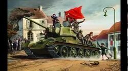 The Soviet Tanks Before And Now!