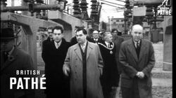 Malenkov At Castle Donington Power Station (1950)