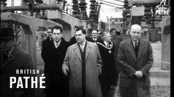 Malenkov At Castle Donington Power Station (1950)