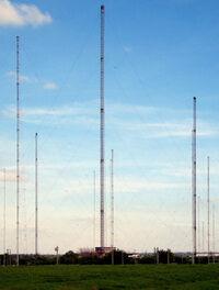 Hillmorton radio masts