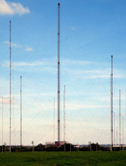 Hillmorton radio masts