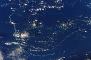 Chuuk islands (satellite)