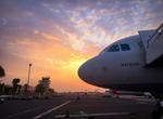 An Turkish Airlines aircraft at the Djibouti–Ambouli International Airport (2016)