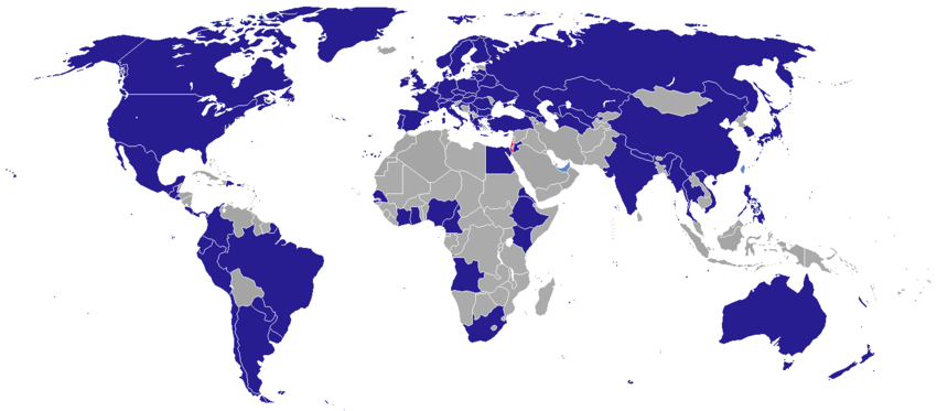 Diplomatic missions of Israel