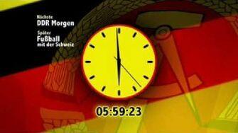 Fernsehen der DDR - Start of Broadcast Day