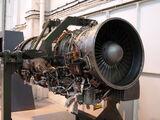 Turbo-Union RB199 aircraft turbofan jet engine