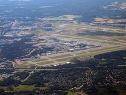 Helsinki-vantaa aerial