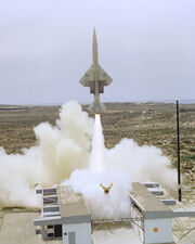 CQM-10B Bormarc drone launch Vandenberg 1977