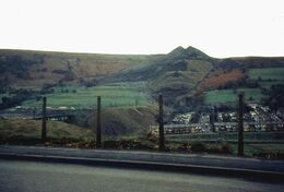 Aberfan and old coal tips - geograph.org.uk - 673825