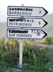 Corse signalisation