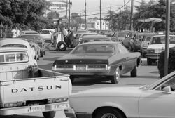 Line at a gas station, June 15, 1979