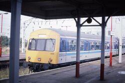 Class 101 Regional Railways DMU set 665, Stockport 18.9.1993 Scans846 (10657013393)