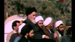 Return of Imam Khomeini to Iran on Feb 1, 1979