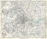 1832 S.D.U.K. Map of London and Environs, England - Geographicus - LondonEnvirons-SDUK-1832 (1)