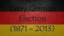 Every German Election (1871 - 2013) (german subtitles) (50 Subs)