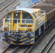 London Underground Schöma locomotive No4 PAM