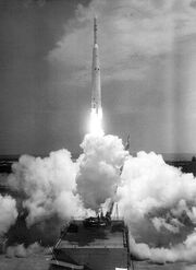 Thor Delta with Ariel 1 (Apr. 26, 1962)