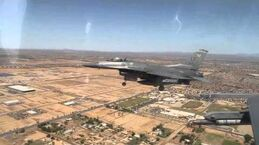 Great Aerial Footage Taken From Cockpit of F-16 Fighter Jet
