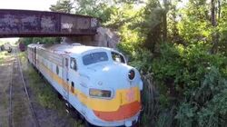 Abandoned train..