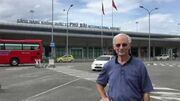 Dad visiting his old army base at Phu Bai international airport, Vietnam-1