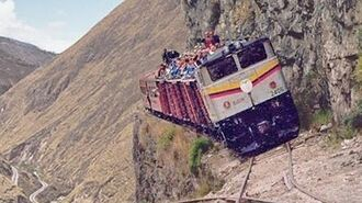The MOST DANGEROUS and EXTREME RAILWAYS in the World!! Compilation of Incredible Train Journeys!!
