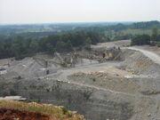 Limestone processing plant, Tennessee
