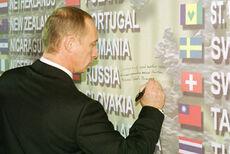 Vladimir Putin in the United States 13-16 November 2001-48