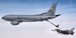 MadDill AFB KC-135 refueling an Eielson 354th FW F-16