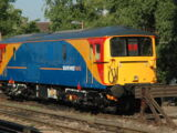 British Rail Class 73 Electric Locomotive