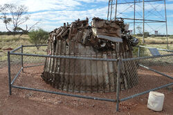 Blue Streak rocket remains