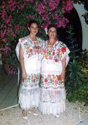 Terno típico de Yucatán