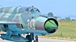 WORLDS CHEAPEST Military Aircraft Russian Mig-21 one title the F-35 will never have-0