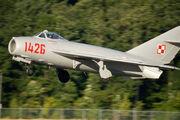 MiG-17 landing by StuSeeger