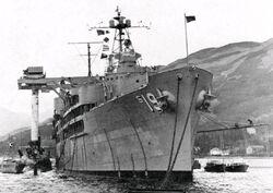 USS Proteus USS Partick Henry HolyLoch 1961