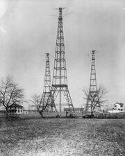 Arlington Virginia - US Navy radio towers - c 1917