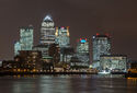 Canary Wharf Skyline 2, London UK - Oct 2012