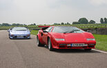 Lamborghini Diablo SV and Countach