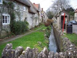 Village Stream - geograph.org.uk - 326527