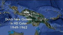 Dutch New Guinea in HD Color 1949-1962