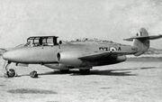 Gloster Meteor T.7 WA637 Q3-5 613 Sqn Takali 07.52 edited-2